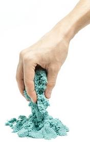 Песок кинетический SuperGum синий 1000 г