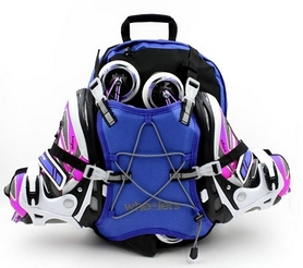 Рюкзак для роликов Wheelers Z-4671-B синий - Фото №2
