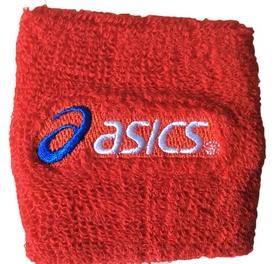 Повязка на кисть (напульсник) Asics BC-5761-R красный