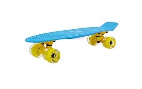 Пенни борд Penny Wheels Fish SK-405-10 синий/желтый