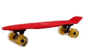 Пенни борд Penny Wheels Fish SK-405-15 красный/черный
