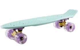 Пенни борд Penny Wheels Fish SK-405-9 бирюзовый/фиолетовый