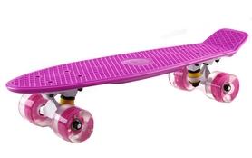 Пенни борд Penny Wheels Fish SK-405-5 розовый/белый