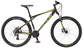 "Велосипед горный GT Aggressor Comp 27,5"" 2016 black, рама - XS"