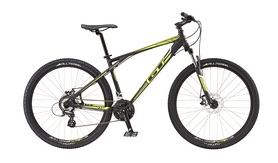 "Велосипед горный GT Aggressor Comp 27,5"" 2016 black, рама - L"