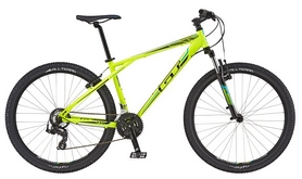 "Велосипед горный GT Aggressor Sport XS yellow 27,5"" 2016 желтый, рама - S"