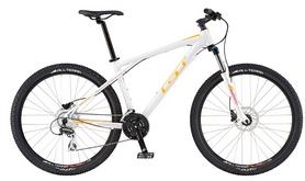 """Велосипед горный женский GT Avalanche Disc Women 27,5"""" 2016 белый, рама - L"""