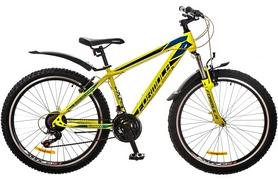"""Велосипед подростковый горный Formula Nevada AM 14G 26"""" 2017 желтый, рама - 16"""""""