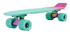Распродажа*! Пенни борд Penny Rubber Soft Fish 22in зеленый/розовый/фиолетовый