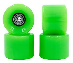 Колеса для скейтборда с подшипником ABEC-7 Kepai SK-4797-4 зеленые (4 шт)