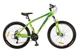 "Велосипед горный Optimabikes Motion AM 14G DD Al 26"" 2017 зеленый, рама - 19"""