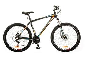 """Велосипед горный Optimabikes Gravity AM 14G DD Al 27,5"""" 2017 черно-оранжевый, рама - 19"""""""