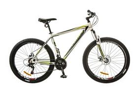 "Велосипед горный Optimabikes Gravity AM 14G DD Al 27,5"" 2017 бело-зеленый, рама - 19"""