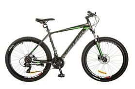 "Велосипед горный Optimabikes F-1 AM 14G HDD Al 26"" 2017 серо-зеленый, рама - 17"""