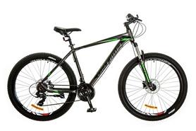 "Велосипед горный Optimabikes F-1 AM 14G HDD Al 29"" 2017 серо-зеленый, рама - 21"""