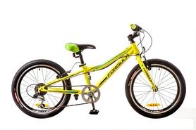 """Велосипед детский Formula Lime 14G Vbr St 20"""" 2017 желтый, рама - 10"""""""