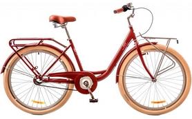 """Велосипед городской женский Dorozhnik Lux 14G Planеtary hub 26"""" 2017 красный, рама - 17"""""""