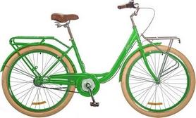 """Велосипед городской женский Dorozhnik Lux 14G Planеtary hub 26"""" 2017 зеленый, рама - 17"""""""