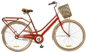 """Велосипед городской женский Dorozhnik Comfort Female 14G Planеtary hub 28"""" 2017 красный, рама - 19"""""""