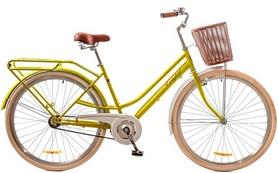 """Велосипед городской женский Dorozhnik Comfort Female 14G 28"""" 2017 желтый, рама - 19"""""""