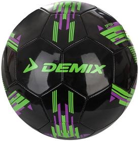 Мяч футбольный Demix DF150-B1 черный