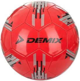 Мяч футбольный Demix DF150-H1 красный