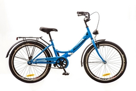"""Велосипед складной Formula Smart 24"""" 2017 синий, рама - 15"""""""
