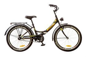 """Велосипед складной Formula Smart 24"""" 2017 черно-оранжевый, рама - 15"""""""