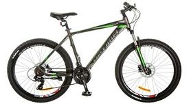 """Велосипед горный Optimabikes Motion AM 14G DD Al 2017 - 29"""", рама - 21"""", черно-зеленый (OPS-OP-29-033)"""