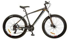 """Велосипед горный Optimabikes Motion AM 14G DD Al 2017 - 29"""", рама - 21"""", серо-красный (OPS-OP-29-035)"""