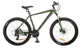"Велосипед горный Optimabikes F-1 AM 26"" 14G HDD Al 2017 серо-зеленый, рама - 19"""