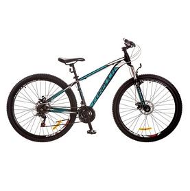 """Велосипед подростковый горный Formula Dragonfly AM 14G DD 29"""" 2017 черно-бирюзовый, рама - 16"""""""