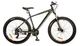 """Велосипед горный Optimabikes F-1 AM 26"""" 14G HDD Al 2017 черно-оранжевый, рама - 19"""""""