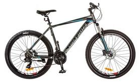 "Велосипед горный Optimabikes F-1 AM 14G HDD Al 2017 - 26"", рама - 19"", серо-синий (OPS-OP-26-100)"