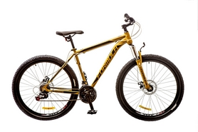 "Велосипед горный Formula Dynamite AM 14G DD 27.5"" 2017 хаки, рама - 19"""