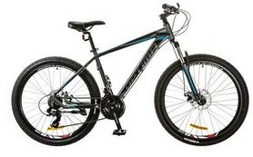"Велосипед горный Optimabikes F-1 AM 26"" 14G DD Al 2017 серо-синий, рама - 17"""