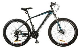 "Велосипед горный Optimabikes F-1 AM 26"" 14G DD Al 2017 серо-синий, рама - 19"""