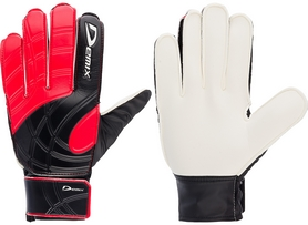Перчатки вратарские Demix Goalkeeper Gloves DG50KEEP-14 красные