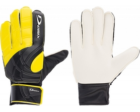Перчатки вратарские Demix Goalkeeper Gloves DG50KEEP-BO желтые