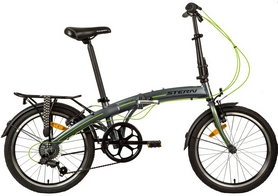 "Велосипед складной Stern Compact 2.0 20"" серый"