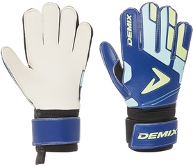 Перчатки вратарские Demix Goalkeeper Gloves DG75MATCH-M1 синие