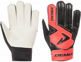 Перчатки вратарские детские Demix Kid's Goalkeeper Gloves DG50KEEPJ-H1 красные