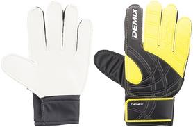 Перчатки вратарские детские Demix Kid's Goalkeeper Gloves DG50KEEPJ-O1 желтые