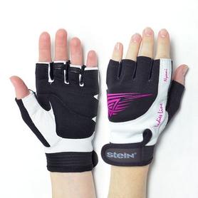 Перчатки спортивные женские Stein Nyomi GLL-2344 черно-розовые