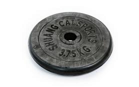 Фото 8 к товару Гантели наборные обрезиненные TA-1436-50R 2 шт по 25 кг