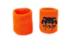 Повязка на кисть (напульсник) Venum BC-5754-OR оранжево-черная