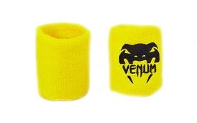 Повязка на кисть (напульсник) Venum BC-5754-Y желто-черная