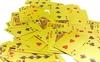 Карты игральные с пластиковым покрытием Gold 100 Dollar IG-4566-G - фото 5