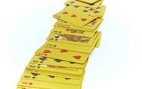 Фото 3 к товару Карты игральные с пластиковым покрытием Gold 100 Dollar IG-4566-G