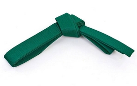 Фото 1 к товару Пояс для кимоно Champion зеленый